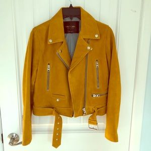 Nasty Gal Collection suede Moto Jacket